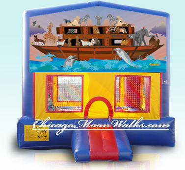 Noahs Ark Bounce House Inflatable Rental Chicago Illinois Moonwalks Party