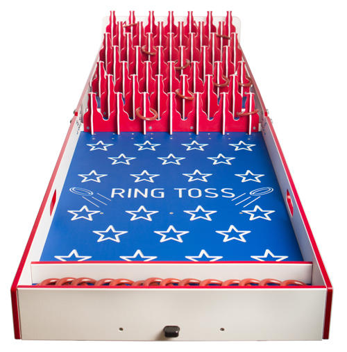Ring Toss Carnival Game Rentals in Chicago IL, Party Games