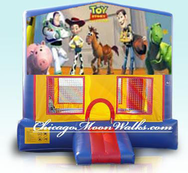 Toy Story Inflatable Bounce House Rental in Chicago Moonwalks