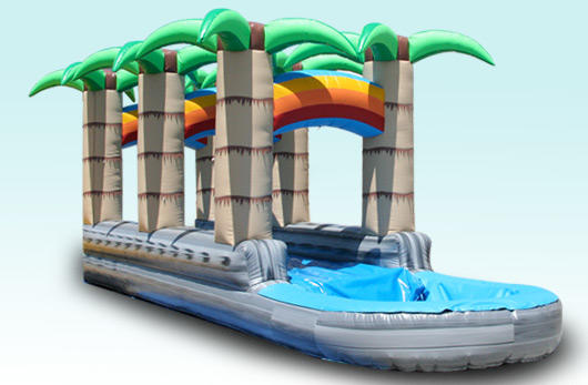 Tropical Rainbow Slip N Slide Waterslide Rental Chicago
