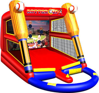 Chicago Baseball Inflatable Game Rental, Sports Game Carnival Rentals in Chicago IL