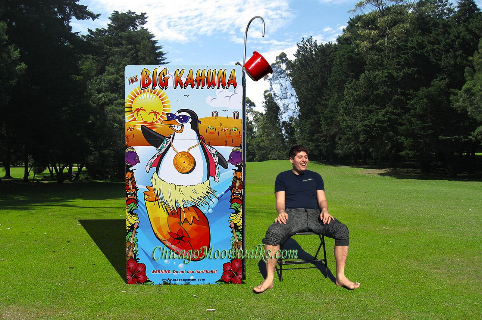Big Kahuna Dunk Tank Alternative, Great for any celebration, party, picnic, or family reunion