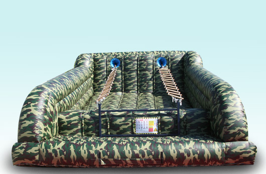 Jacobs Ladder Camo Military Inflatable Interactive Inflatable Rentals in Chicago