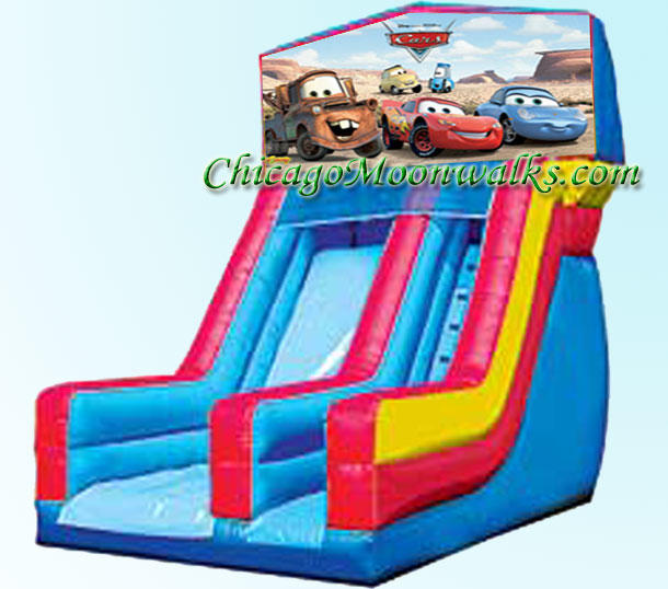 Disney Cars Slide Inflatable Rental Chicago Illinois