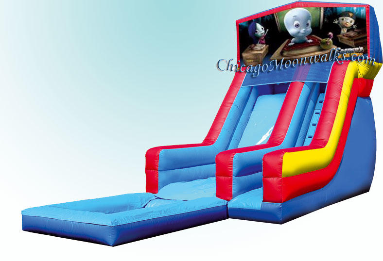 Casper Water Slide, So much fun & Entertainment.  Great for any party or special event.