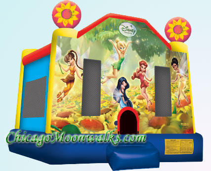 Disney Fairies Tinkerbell Bounce House Rental Chicago IL
