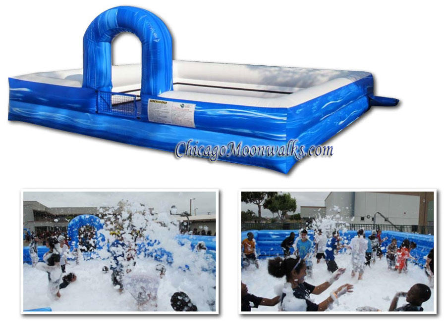 Foam Pit Dance Arena Rental, Portable dance club Chicago IL  Fog Foam Pit Rentals.