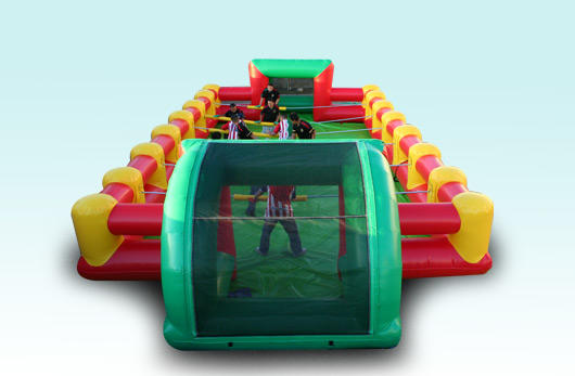 Human Foosball Inflatable Interactive Rentals in Chicago Giant Foosball Rental Chicago