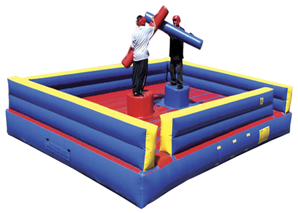 Inflatable Gladiator Joust Rental, Chicago Competitive Joust Rental