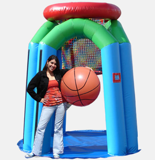 Monster Basketball Inflatable Game Rental Chicago