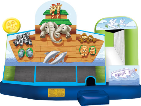 Noahs Ark 5 in 1 Combo Rental Chicago IL, Inflatable Combo Rentals