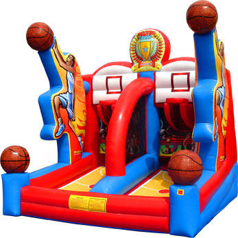 Chicago Basketball Jump Inflatable Game Rentals in Chicago IL