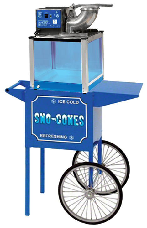 Chicago Snow Cone Machine Rental With Cart, and Supplies Chicago Illinois Rental