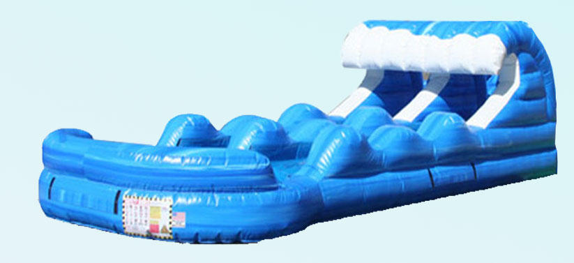 Tsunami Dual Lane Slip n Slide Rental Chicago IL, Inflatable Waterslide