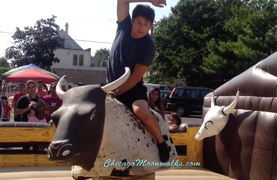 Mechanical Bull Rentals in Western Springs, Illinois