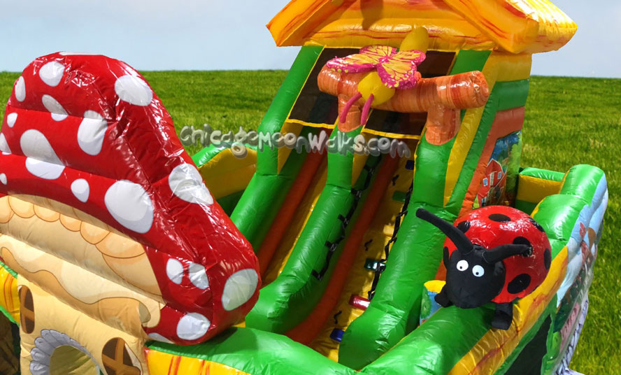 Chicago Toy Town Toddler Playground Inflatable Rental Chicago IL
