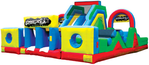 Adrenaline Rush 4 Obstacle Course Rental Chicago