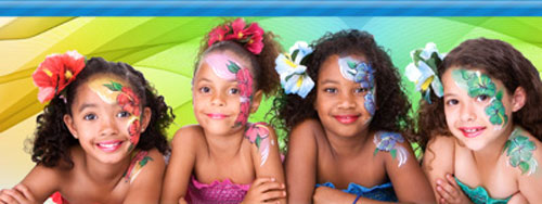 Face Painter Rentals in Morton Grove, Illinois