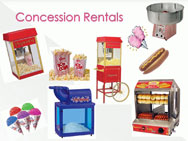 Concession Machine Rentals in Burr Ridge, Illinois