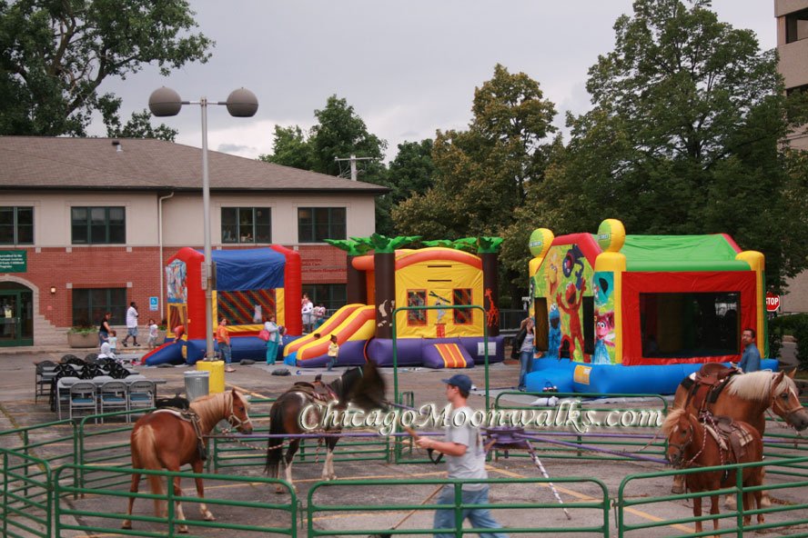 Chicago Moonwalks Event Rental