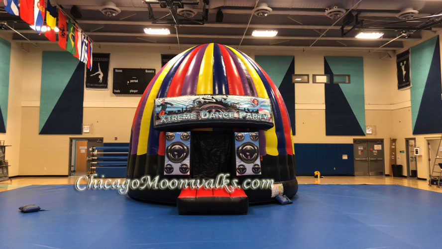 Disco Dome Dance Party Inflatable Rental Chicago