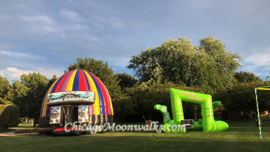 Disco Dome Inflatable Rentals in Chicago