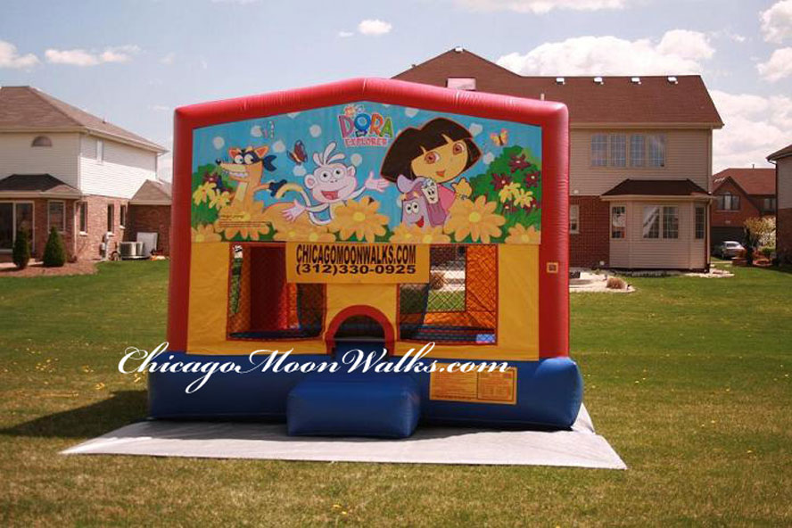 Dora Bounce House Rental Chicago