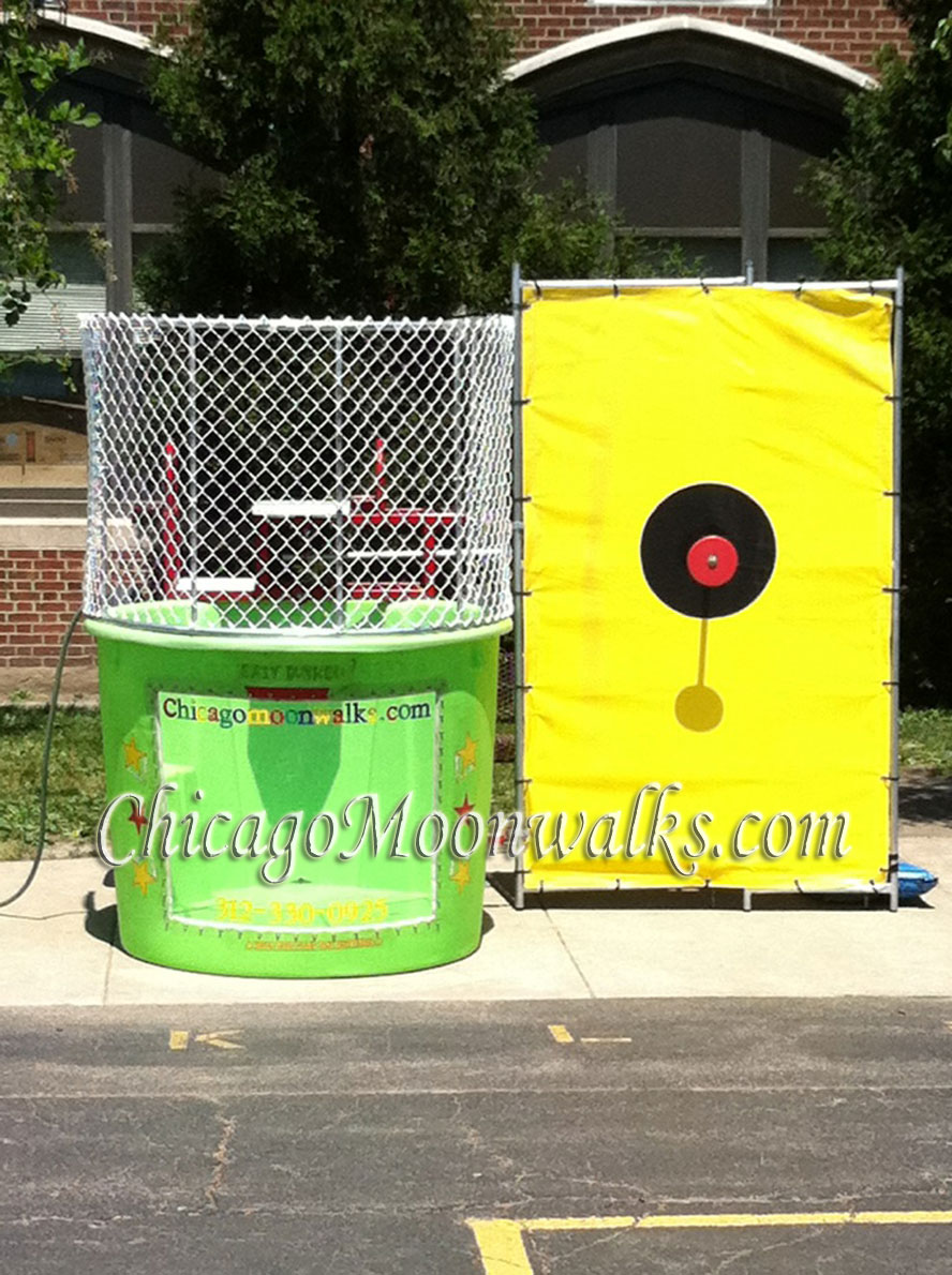 Dunk Tank Rental Chicago Moonwalks