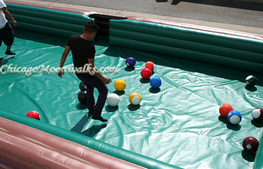 Human Billiard Inflatable Rental Chicago