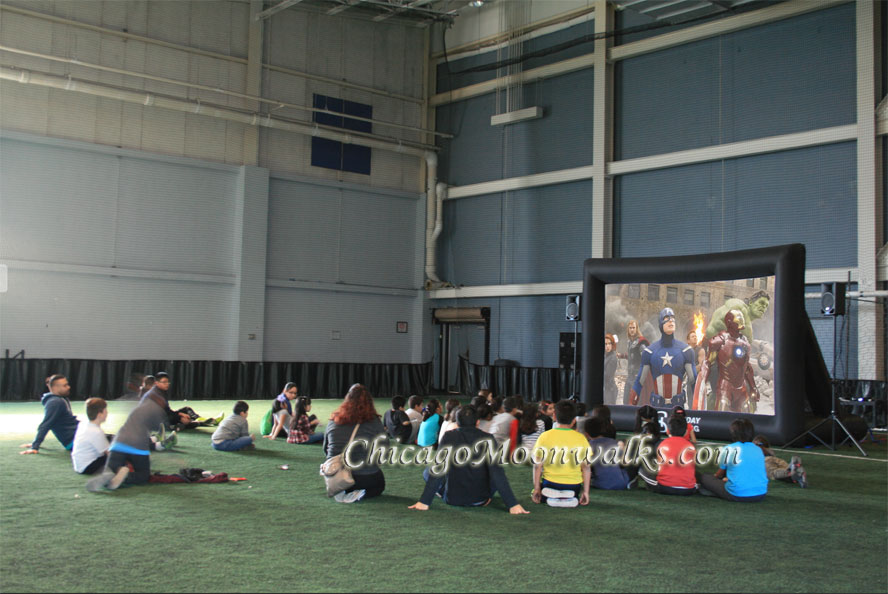 Inflatable Movie Screen Rentals in Chicago
