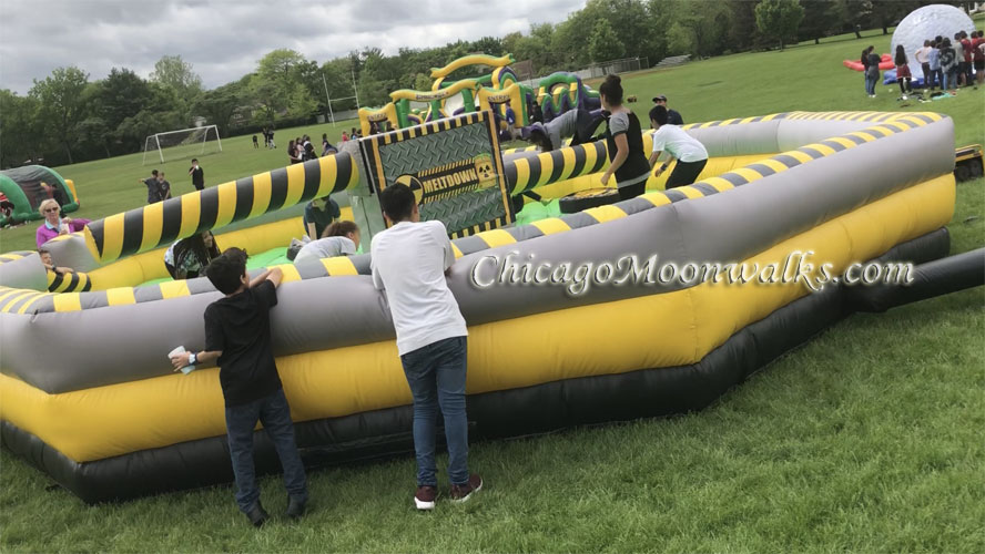 Mechanical Meltdown Toxic Inflatable Rental in Chicago