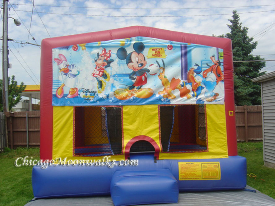 Mickey Mouse Bounce House Rental Chicago