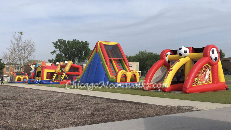 Sports Inflatable and Obstacle Course Rental Chicago