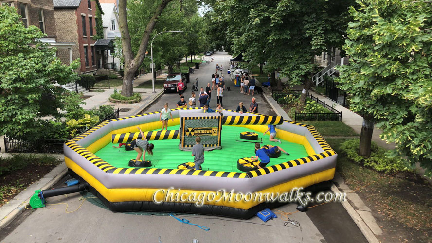 Toxic Meltdown Mechanical Ride Rental in Chicago