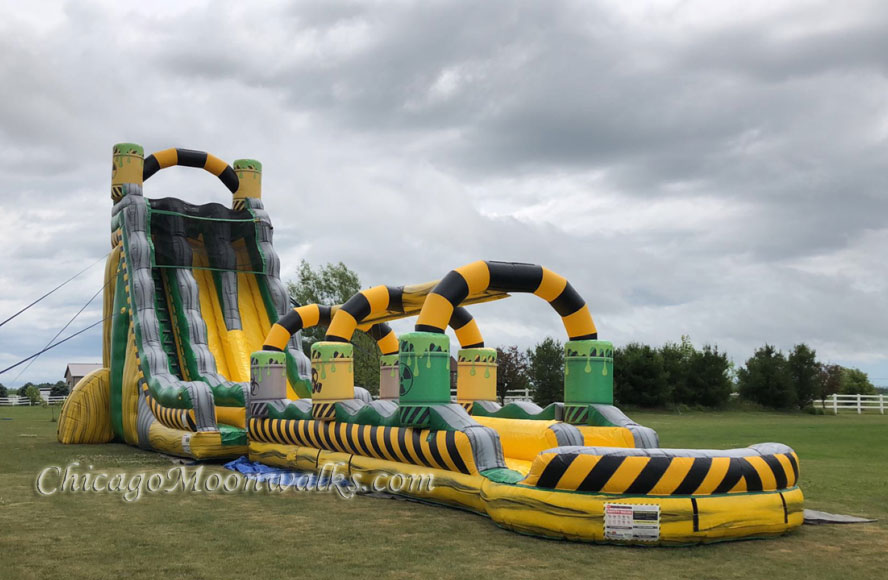 Toxic Waterslide Rental Chicago