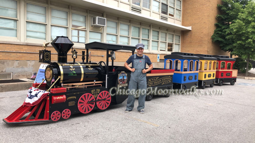 Trackless Train Rental Chicago IL