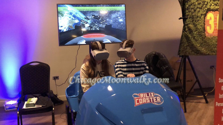 VR Virtual Reality Roller Coaster Rental Chicago