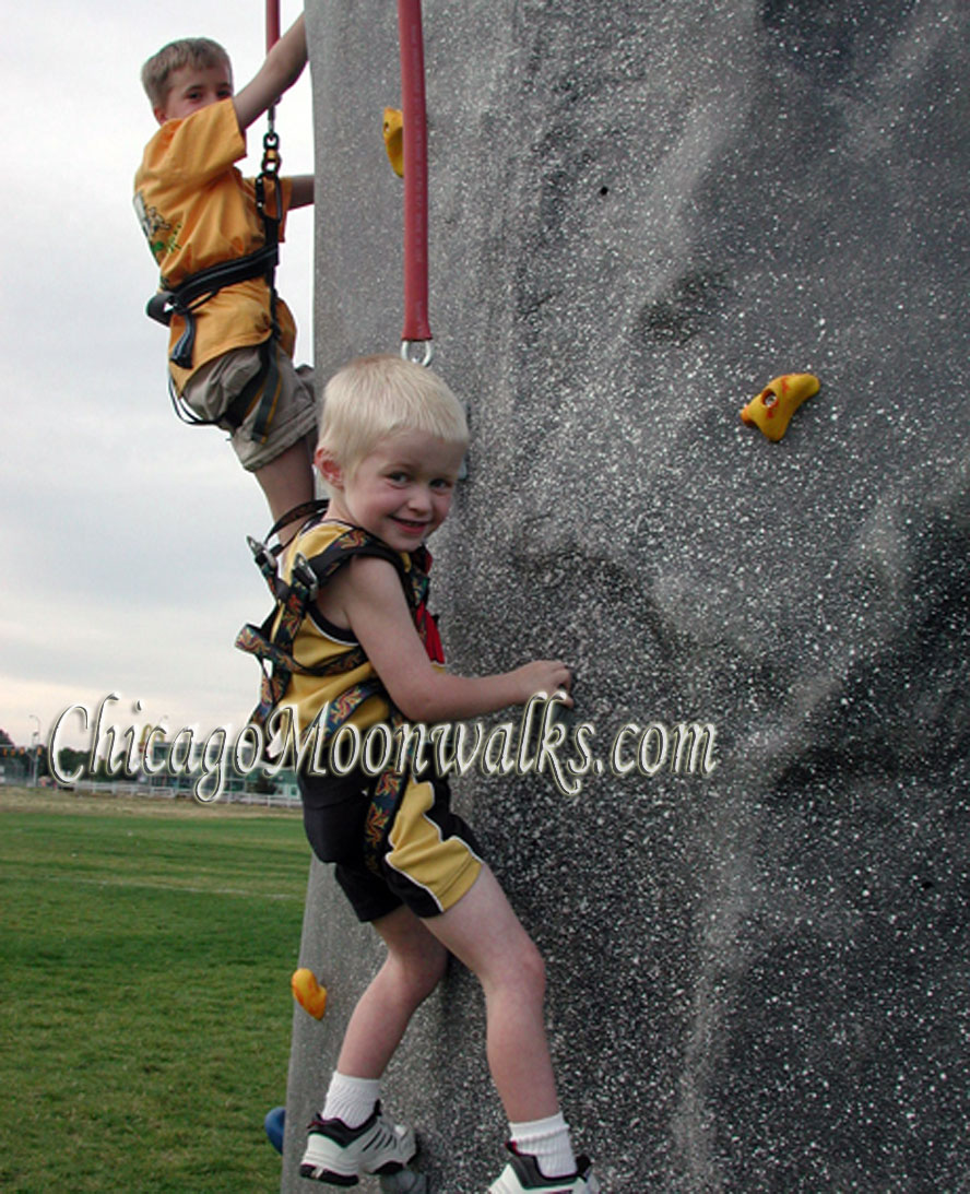 chicago mobile climbing rockwall rental