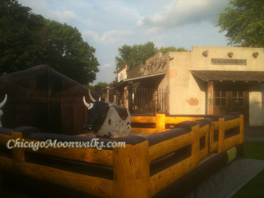 Chicago Mechanical bull rental