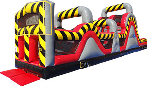 Chicago Sports All Star Inflatable Slide Obstacle Course