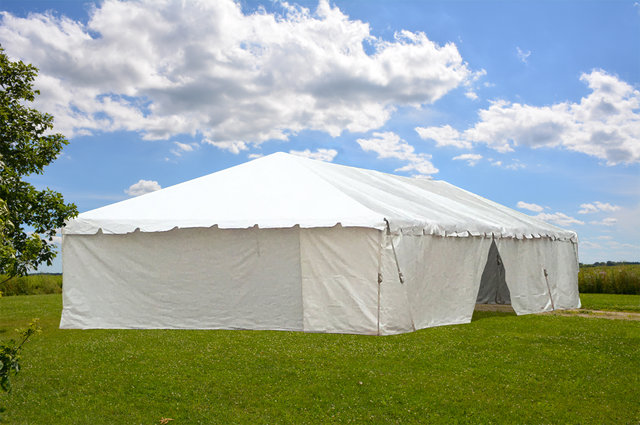 Traditional Frame Tent Rental 20x30 With side walls