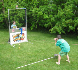 Interactive Beat The Bucket Dunk Tank Alternative