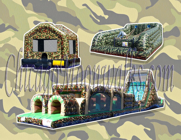 Camo Military Party Package