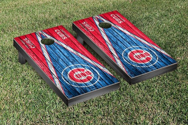 Cornhole Bean Bag Toss LED Lights - Cubs