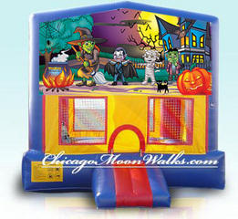 Haunting Module Bounce House