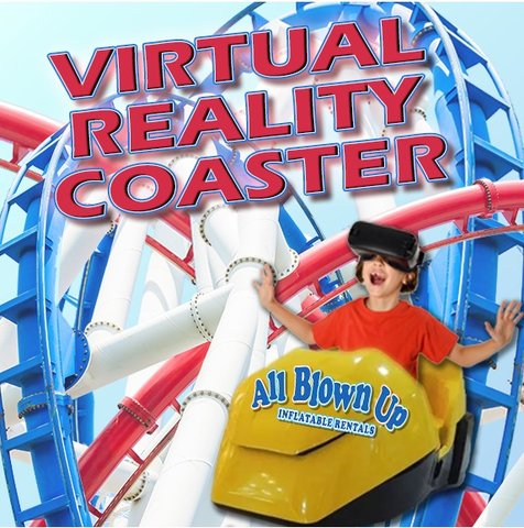 1 VR Roller Coaster Simulator Interactive Rental