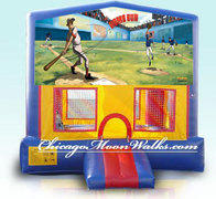 Baseball Module Bounce House