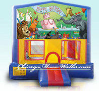 Birthday Animals Module Bounce House