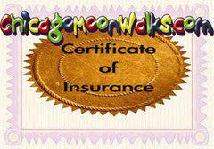 Certificate of Insurance - for Forest Preserve or Parks