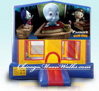 Casper the Friendly Ghost Module Bounce House